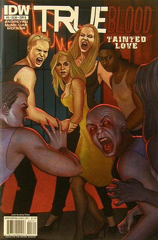 Cover of True Blood: Tainted (Vol 1) #3. One of 250,000 Vintage American Comics on sale from Krypton!