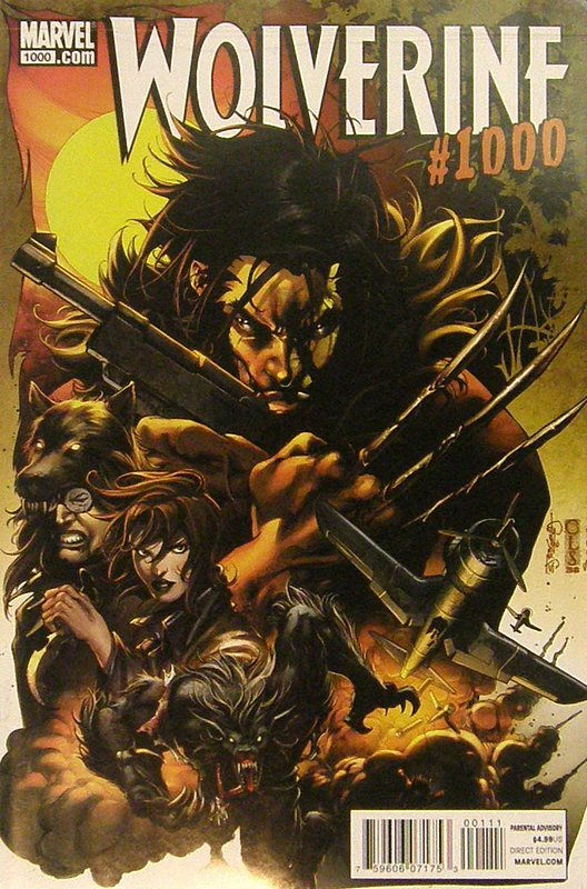 Cover of Wolverine: One Thousand (2011 One Shot) #1. One of 250,000 Vintage American Comics on sale from Krypton!