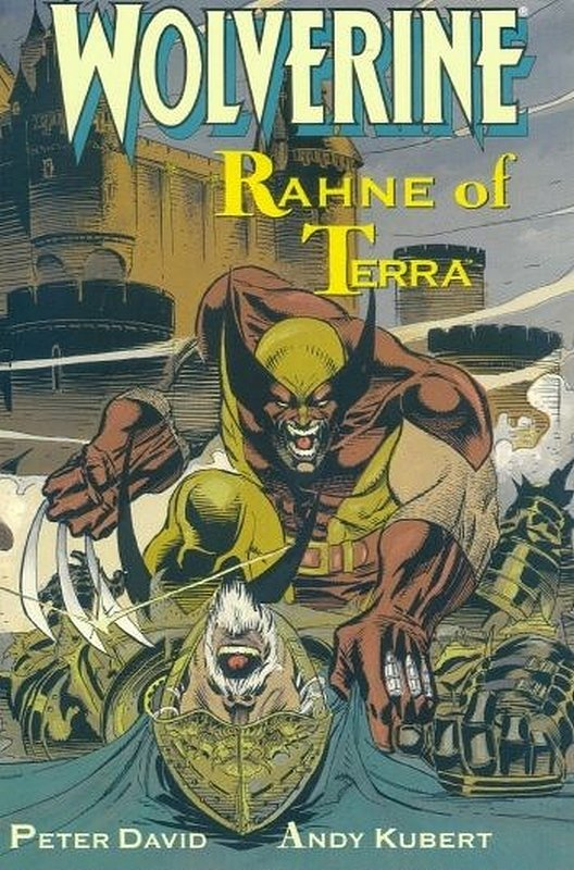 Cover of Wolverine: Rahne of Terra (1991 One Shot) #1. One of 250,000 Vintage American Comics on sale from Krypton!
