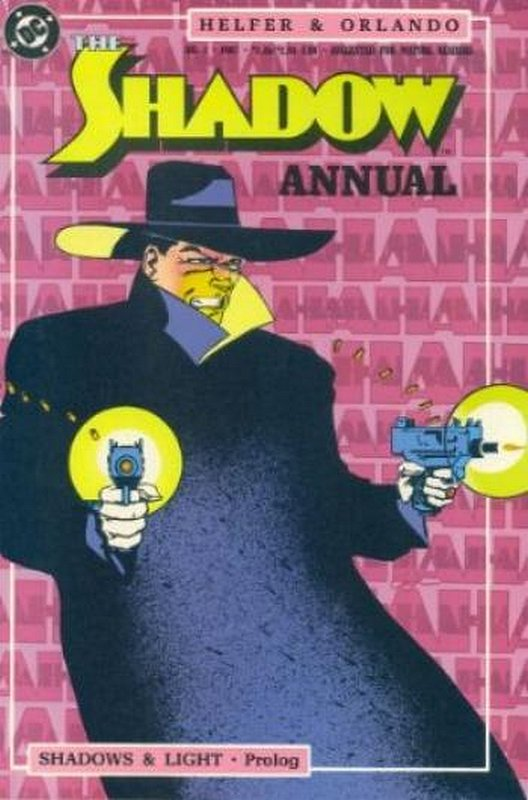 Cover of Shadow (Vol 2) Annual The #1. One of 250,000 Vintage American Comics on sale from Krypton!