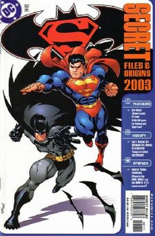 Cover of Superman/Batman: Secret Files (2003 One Shot) #2003. One of 250,000 Vintage American Comics on sale from Krypton!