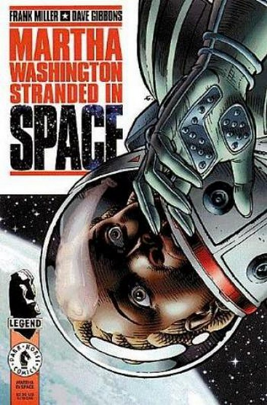 Cover of Martha Washington: Stranded in Space #1. One of 250,000 Vintage American Comics on sale from Krypton!