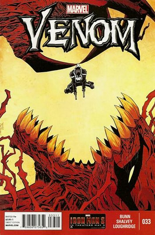 Cover of Venom (Vol 2) #33. One of 250,000 Vintage American Comics on sale from Krypton!