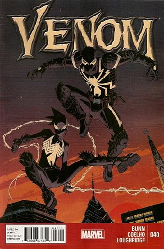 Cover of Venom (Vol 2) #40. One of 250,000 Vintage American Comics on sale from Krypton!