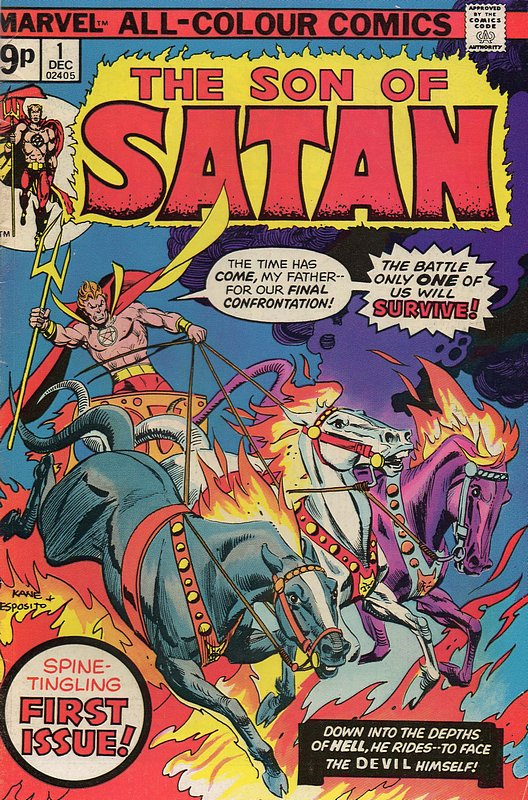 Cover of Son of Satan (Vol 1) #1. One of 250,000 Vintage American Comics on sale from Krypton!