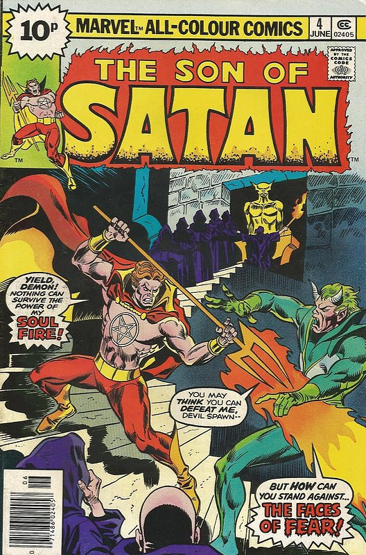 Cover of Son of Satan (Vol 1) #4. One of 250,000 Vintage American Comics on sale from Krypton!