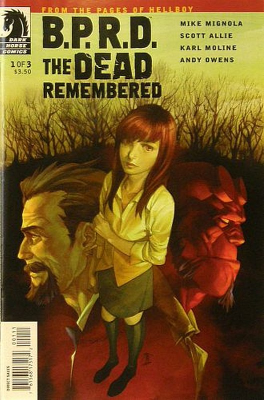 Cover of BPRD: Dead Remembered (2011 Ltd) #1. One of 250,000 Vintage American Comics on sale from Krypton!