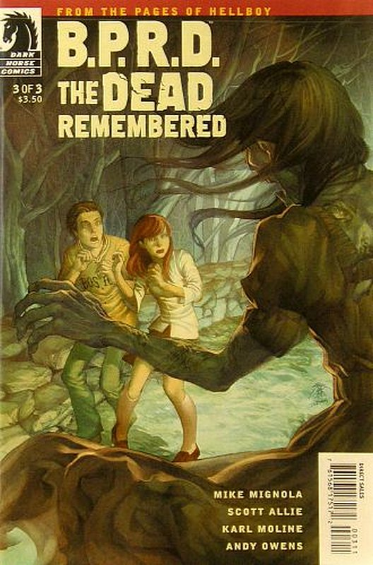 Cover of BPRD: Dead Remembered (2011 Ltd) #3. One of 250,000 Vintage American Comics on sale from Krypton!