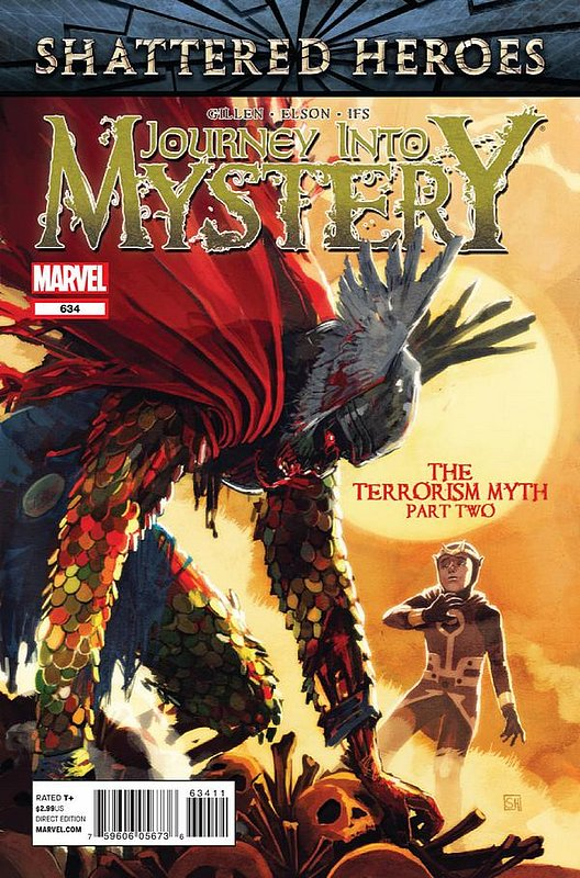 Cover of Journey Into Mystery (Vol 4) #634. One of 250,000 Vintage American Comics on sale from Krypton!