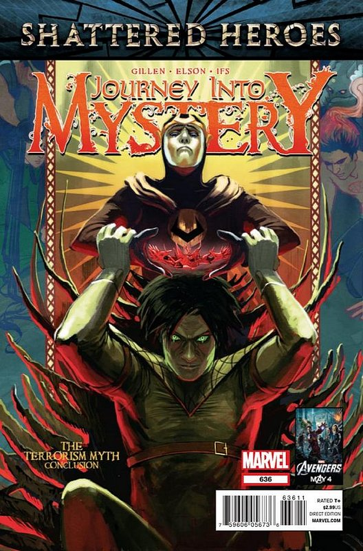 Cover of Journey Into Mystery (Vol 4) #636. One of 250,000 Vintage American Comics on sale from Krypton!