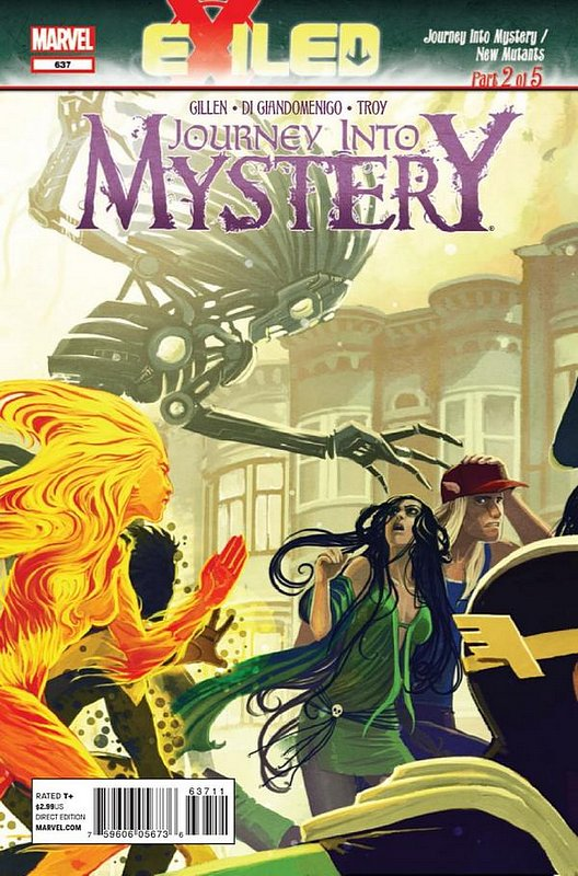 Cover of Journey Into Mystery (Vol 4) #637. One of 250,000 Vintage American Comics on sale from Krypton!
