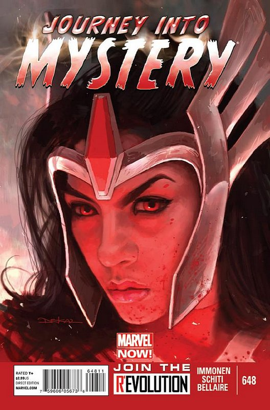 Cover of Journey Into Mystery (Vol 4) #648. One of 250,000 Vintage American Comics on sale from Krypton!