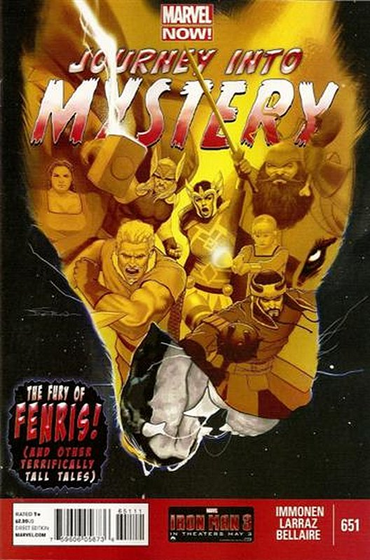Cover of Journey Into Mystery (Vol 4) #651. One of 250,000 Vintage American Comics on sale from Krypton!