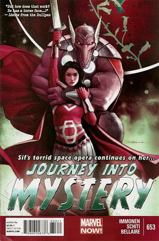 Cover of Journey Into Mystery (Vol 4) #653. One of 250,000 Vintage American Comics on sale from Krypton!