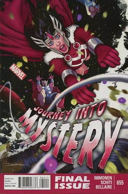 Cover of Journey Into Mystery (Vol 4) #655. One of 250,000 Vintage American Comics on sale from Krypton!