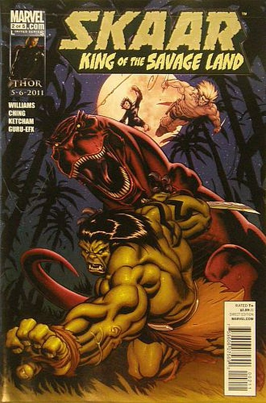 Cover of Skarr: King of the Savage Land (2011 Ltd) #2. One of 250,000 Vintage American Comics on sale from Krypton!