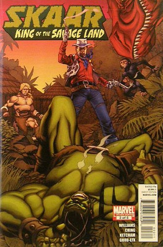 Cover of Skarr: King of the Savage Land (2011 Ltd) #3. One of 250,000 Vintage American Comics on sale from Krypton!