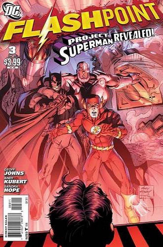 Cover of Flashpoint (2011 Ltd) #3. One of 250,000 Vintage American Comics on sale from Krypton!