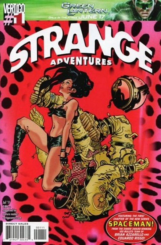 Cover of Strange Adventures (2011 One Shot) #1. One of 250,000 Vintage American Comics on sale from Krypton!