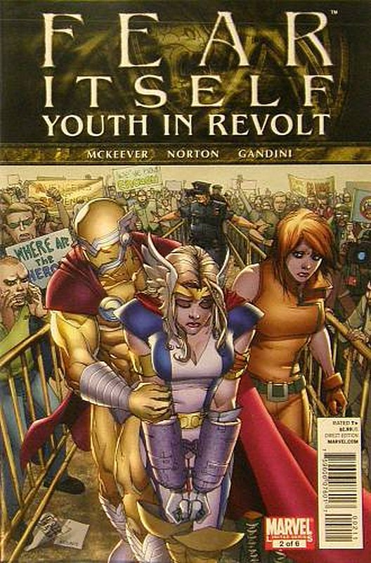Cover of Fear Itself: Youth in Revolt (2011 Ltd) #2. One of 250,000 Vintage American Comics on sale from Krypton!