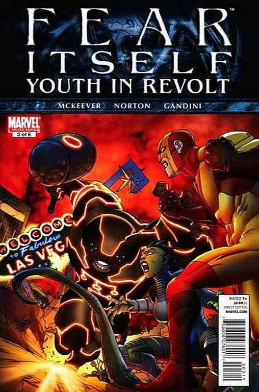 Cover of Fear Itself: Youth in Revolt (2011 Ltd) #3. One of 250,000 Vintage American Comics on sale from Krypton!
