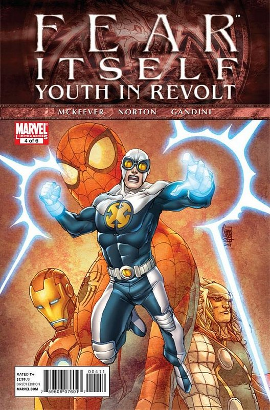 Cover of Fear Itself: Youth in Revolt (2011 Ltd) #4. One of 250,000 Vintage American Comics on sale from Krypton!