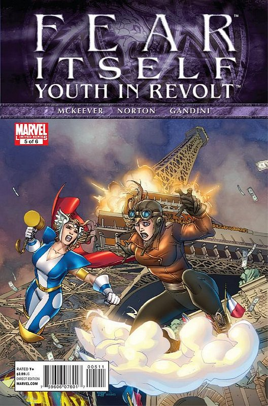 Cover of Fear Itself: Youth in Revolt (2011 Ltd) #5. One of 250,000 Vintage American Comics on sale from Krypton!