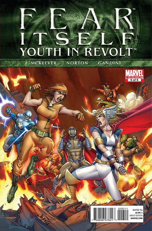 Cover of Fear Itself: Youth in Revolt (2011 Ltd) #6. One of 250,000 Vintage American Comics on sale from Krypton!