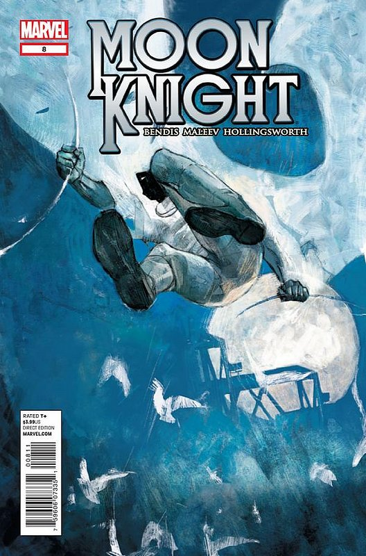 Cover of Moon Knight (Vol 5) #8. One of 250,000 Vintage American Comics on sale from Krypton!