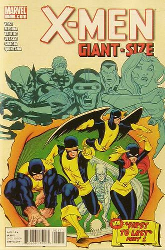 Cover of X-Men Giant-Size (2011) #1. One of 250,000 Vintage American Comics on sale from Krypton!