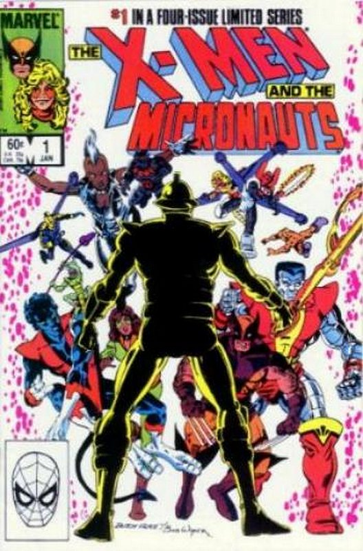 Cover of X-Men & Micronauts (1994 Ltd) #1. One of 250,000 Vintage American Comics on sale from Krypton!