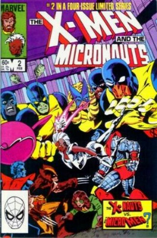 Cover of X-Men & Micronauts (1994 Ltd) #2. One of 250,000 Vintage American Comics on sale from Krypton!