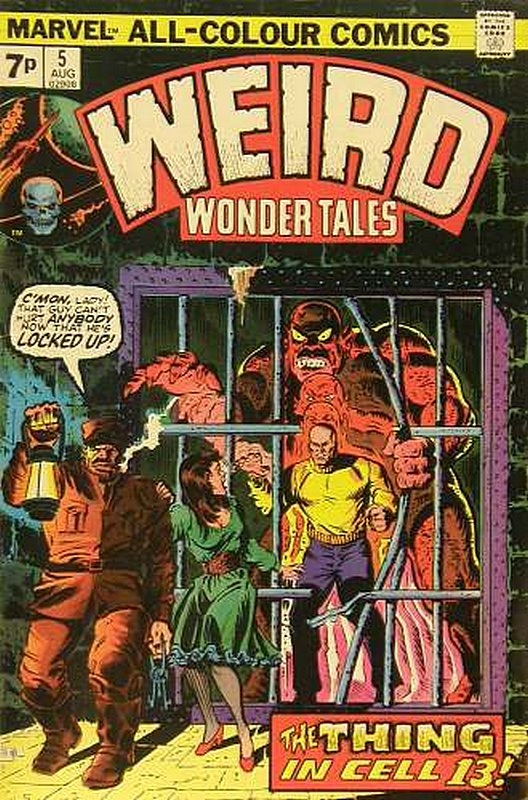 Cover of Weird Wonder Tales (Vol 1) #5. One of 250,000 Vintage American Comics on sale from Krypton!
