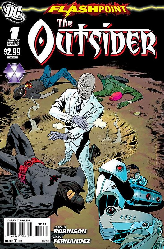 Cover of Flashpoint: The Outsider (2011 Ltd) #1. One of 250,000 Vintage American Comics on sale from Krypton!