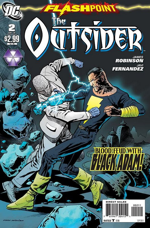 Cover of Flashpoint: The Outsider (2011 Ltd) #2. One of 250,000 Vintage American Comics on sale from Krypton!