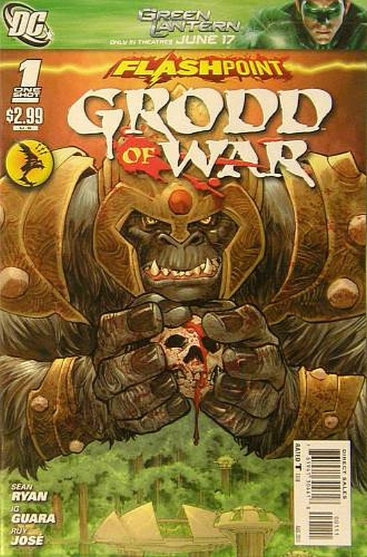 Cover of Flashpoint: Grodd of War (2011 One Shot) #1. One of 250,000 Vintage American Comics on sale from Krypton!
