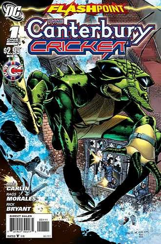 Cover of Flashpoint: Canterbury Cricket (2011 One Shot) #1. One of 250,000 Vintage American Comics on sale from Krypton!