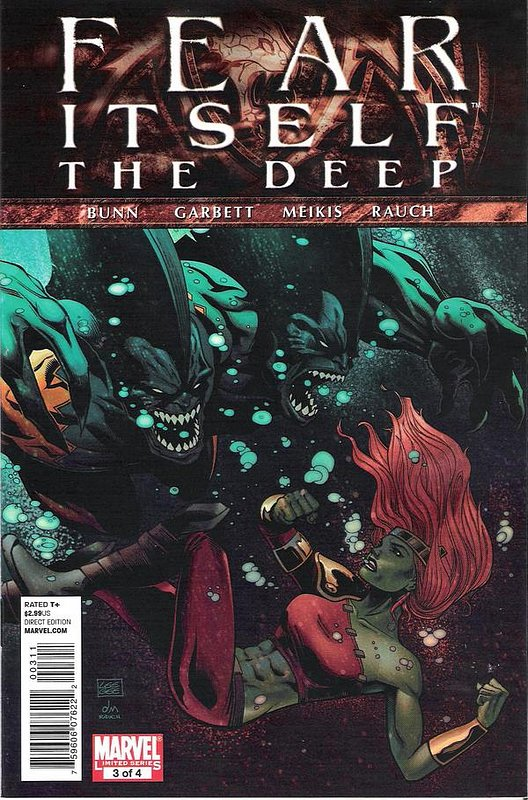 Cover of Fear Itself: Deep (2011 Ltd) #3. One of 250,000 Vintage American Comics on sale from Krypton!