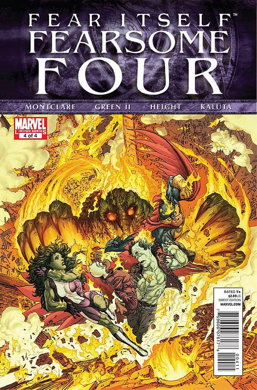Cover of Fear Itself: Fearsome Four (2011 Ltd) #4. One of 250,000 Vintage American Comics on sale from Krypton!