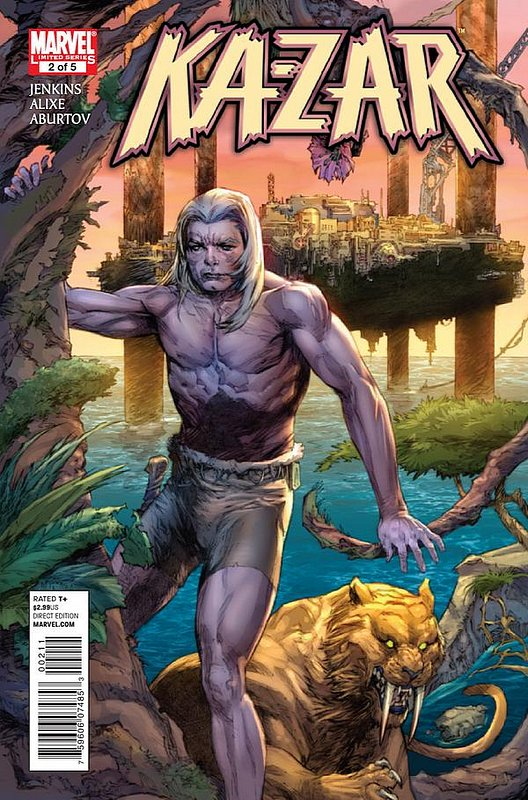 Cover of Ka-Zar (2011 Ltd) #2. One of 250,000 Vintage American Comics on sale from Krypton!