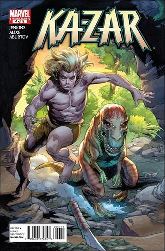 Cover of Ka-Zar (2011 Ltd) #4. One of 250,000 Vintage American Comics on sale from Krypton!