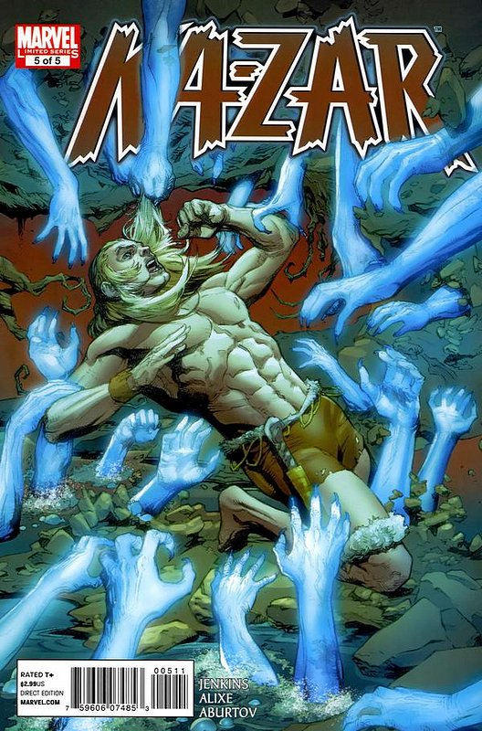 Cover of Ka-Zar (2011 Ltd) #5. One of 250,000 Vintage American Comics on sale from Krypton!