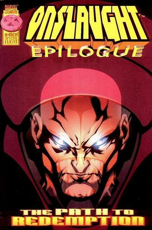 Cover of Onslaught: Epilogue (1997 One Shot) #1. One of 250,000 Vintage American Comics on sale from Krypton!