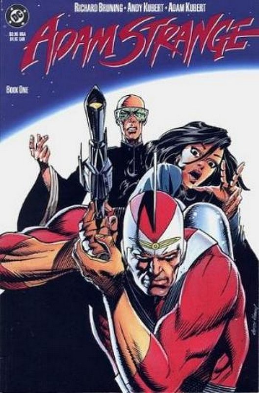 Cover of Adam Strange (1990 Ltd) #1. One of 250,000 Vintage American Comics on sale from Krypton!