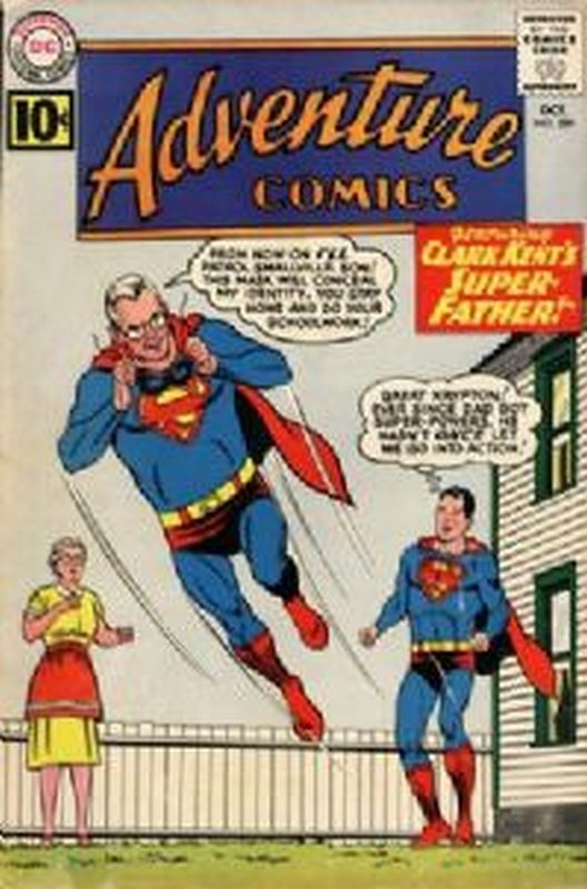 Cover of Adventure Comics (Vol 1) #289. One of 250,000 Vintage American Comics on sale from Krypton!