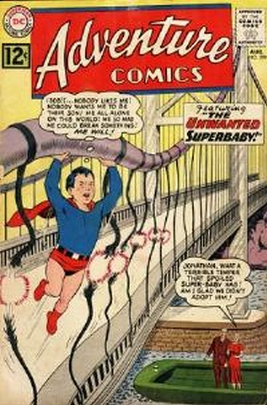 Cover of Adventure Comics (Vol 1) #299. One of 250,000 Vintage American Comics on sale from Krypton!