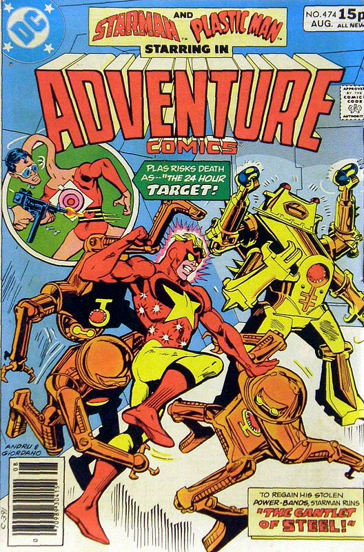 Cover of Adventure Comics (Vol 1) #474. One of 250,000 Vintage American Comics on sale from Krypton!
