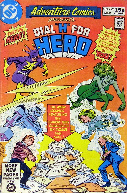Cover of Adventure Comics (Vol 1) #479. One of 250,000 Vintage American Comics on sale from Krypton!