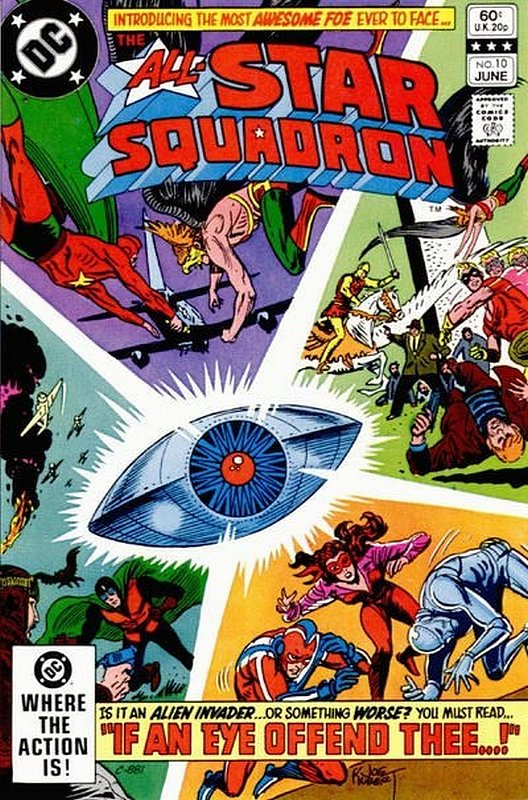 Cover of All-Star Squadron (Vol 1) #10. One of 250,000 Vintage American Comics on sale from Krypton!
