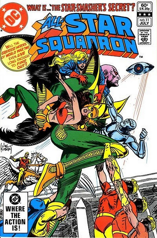 Cover of All-Star Squadron (Vol 1) #11. One of 250,000 Vintage American Comics on sale from Krypton!